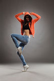 The dancer posing Royalty Free Stock Photography