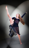 Dancer posing in studio Stock Photography