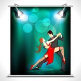 Dancer Poster Royalty Free Stock Photos