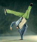 Dancer - Power Freeze Stock Photo