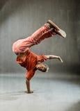 Dancer - Power Freeze Stock Image