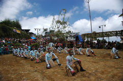 Dancer's. Festival 5 moon in magelang city central java indonesia Royalty Free Stock Photography