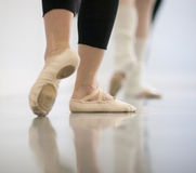 Dancer's feet Royalty Free Stock Images