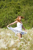 Dancer In Savage Garden Stock Photography