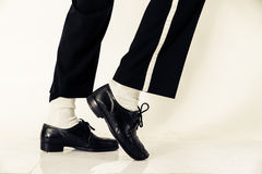 Dancer shoes close up Royalty Free Stock Photography