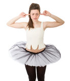 Dancer shouting Royalty Free Stock Photography