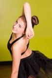 Dancer smiling Stock Photos