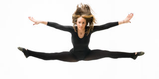 Dancer split Stock Image