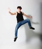 Dancer in studio Stock Photography