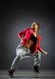 The dancer. Studio Shot of a beautiful dancer royalty free stock photography