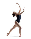 The dancer in studio Stock Images