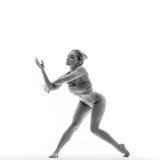 The dancer in studio Royalty Free Stock Photo