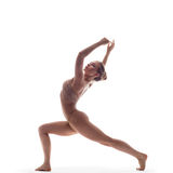 The dancer in studio Stock Image