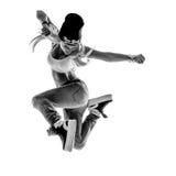 The dancer in studio Stock Photo