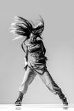 The dancer in studio Stock Photography