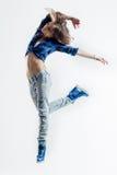 The dancer in studio Stock Photos
