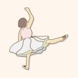 Dancer theme elements vector,eps Stock Images