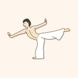 Dancer theme elements vector,eps Royalty Free Stock Photography
