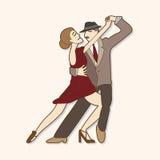 Dancer theme elements vector,eps Stock Image