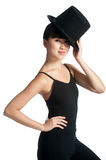 Dancer with Top Hat Stock Photos