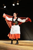 Dancer in traditional costume Royalty Free Stock Photo