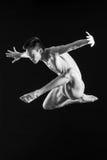The dancer. Young beautiful dancer posing in studio Stock Photo