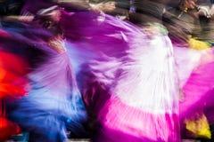 Dancera brouillé Photographie stock libre de droits