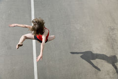 DancerJumping Imagem de Stock