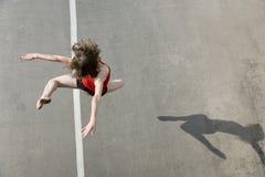 DancerJumping Stock Image