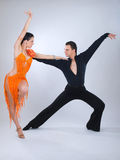 Dancers Royalty Free Stock Photo