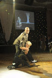 Dancers. Mark Ramprakash and Karen Hardy winners of the 2007 strictly come dancing UK tv series back up dancers Royalty Free Stock Image