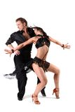 Dancers in action Stock Photo