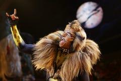 Dancers and actors Dominik Hees Stock Image