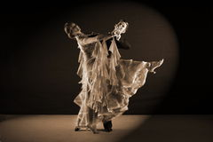 Dancers in ballroom Stock Image