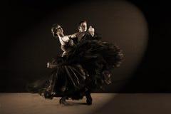 Dancers in ballroom Stock Photo