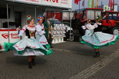 Dancers from Belarus Royalty Free Stock Photos