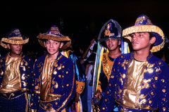 Dancers of brazilian folk dance Royalty Free Stock Photo