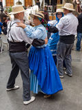 Dancers at Canary Islands Festival Stock Photography
