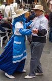 Dancers at Canary Islands Festival Royalty Free Stock Images