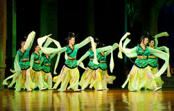Dancers of the China Dance Troupe Royalty Free Stock Images