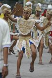 dancers ・ de tanjay的saulug 免版税库存照片
