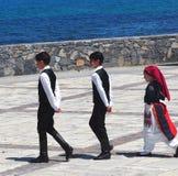 Dancers At Easter Celebration Heraklion Crete Greece Royalty Free Stock Images