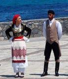 Dancers At Easter Celebration Heraklion Crete Greece Royalty Free Stock Photo