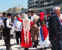 Dancers At Easter Celebration Heraklion Crete Greece Stock Photo
