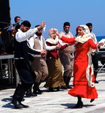 Dancers At Easter Celebration Heraklion Crete Greece Stock Photography