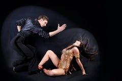 dancers latino Στοκ Φωτογραφίες