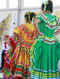 Dancers at the Latino Royalty Free Stock Photos