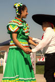 Dancers at the Latino Heritage Festival Royalty Free Stock Photography