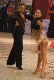 Dancers: Manole Razvan Gabriel/ Negoduico Olga Royalty Free Stock Image