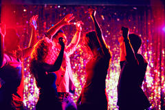 Dancers in night club Stock Photo
